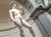 Statue of david, Galleria dell'Accademia Florence Italy